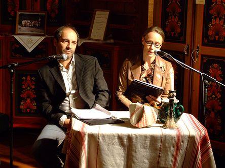 Rudolf Péter és felesége, Nagy-Kálózy Eszter