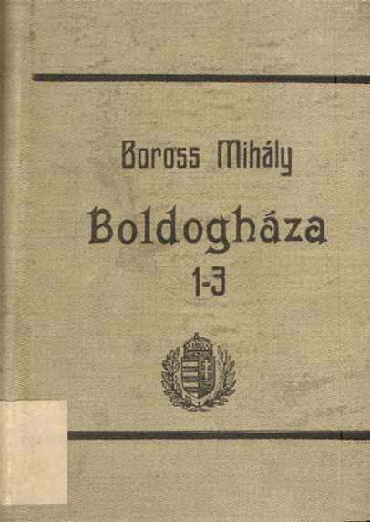 Boross Mihály regénye