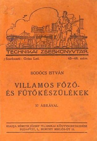 Bodócs István műve